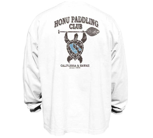 Honu Paddle Club | Long Sleeve Tee for Men | Classic Fit