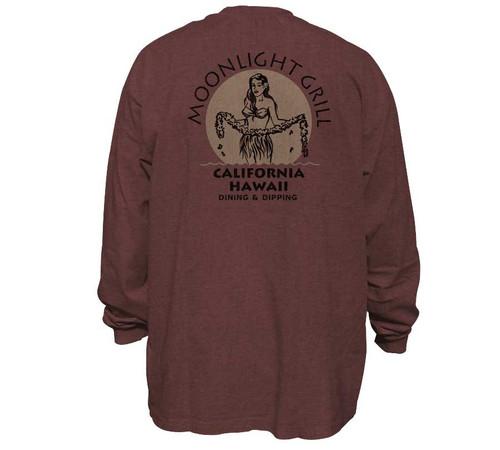 Moonlight Heavy T-Shirt for Men | Long Sleeve | Tall Fit
