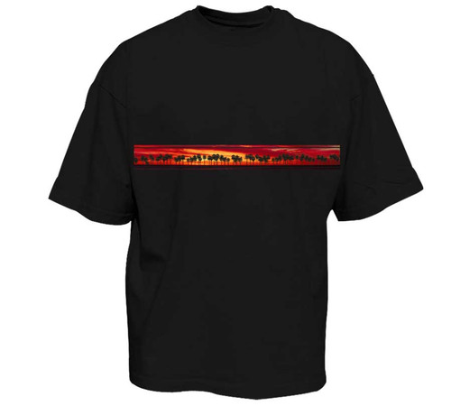 California Sunset | Heavy T-Shirt | Classic Fit