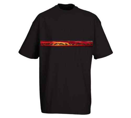 California Sunset | Heavy T-Shirt | Tall Fit