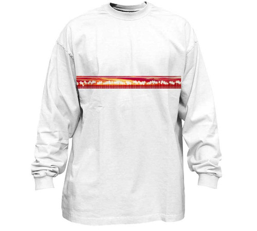 California Sunset White Tall-Fit Tee
