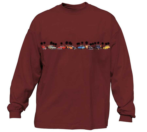 California Dreamin Long Sleeve T-Shirts | Classic Fit