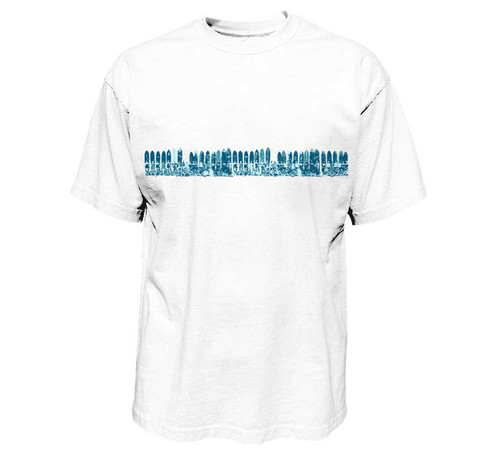 Surf Team Mini-Band Print Heavy T-Shirt | Pro Fit