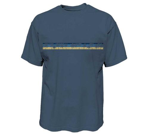Palm Stripe Heavy T-Shirt | Pro Fit