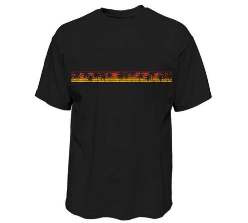 Palm Stripe Heavy T-Shirt | Tall Fit