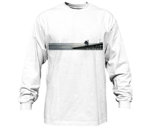 The Pier Long Sleeve Heavy T-Shirt | Pro Fit