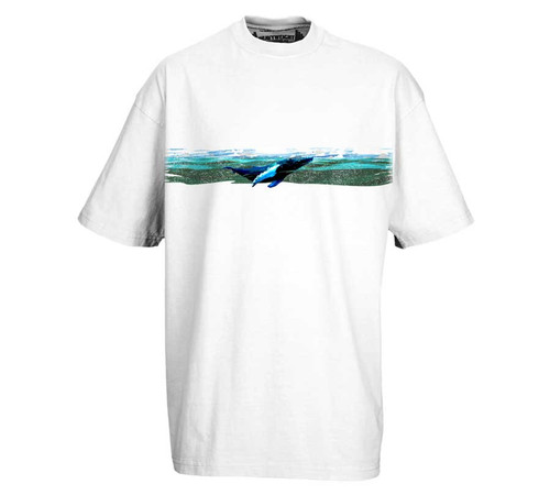 Humpback Whale | Heavy Tee for Men | Tall Fit