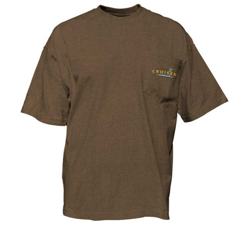 Heather Khaki heavy tee