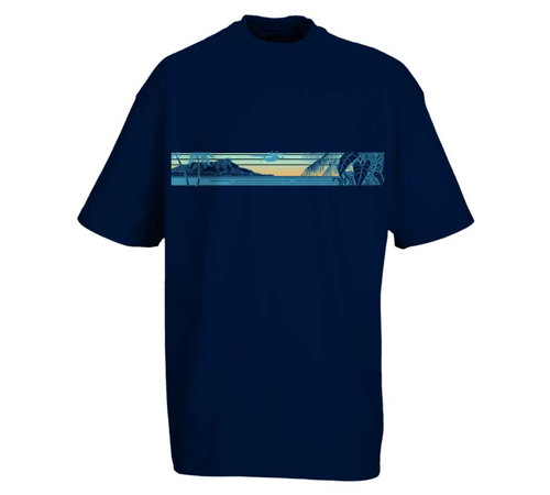 Flight to Maui Heavy Tee | Tall Fit