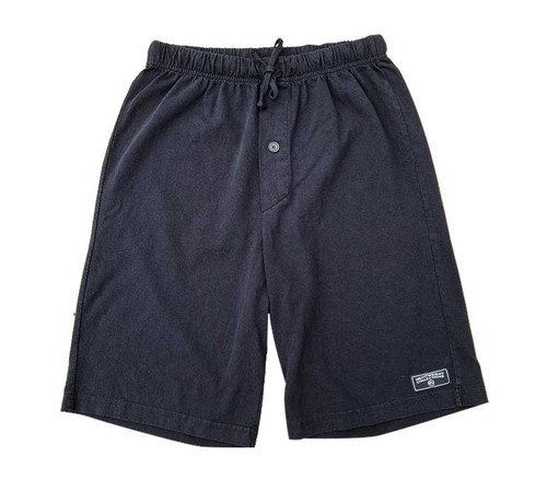 Black Label Lounge Shorts in Black