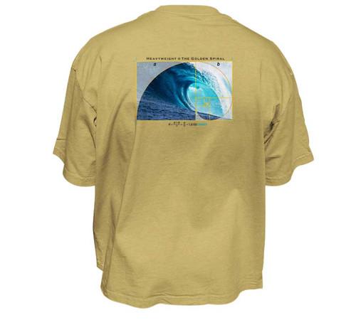 Golden Spiral Heavy T-Shirt | Classic Fit