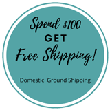 Get free shipping on orders of $100 or more when delivery is within the USA