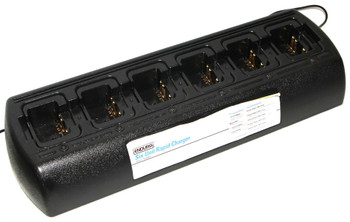 TWC6M - Power Products ENDURA SIX-UNIT CHARGER WITH EXTERNAL POWER SUPPLY for Motorola Radios