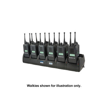 TWC12M - Power Products ENDURA TWELVE-UNIT CHARGER WITH EXTERNAL POWER SUPPLY for Kenwood Radios