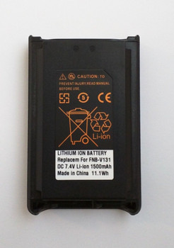 WCFNB-V131 - Battery for Vertex Standard VX-231 LiIon 7.4v 1500 mAh UNI