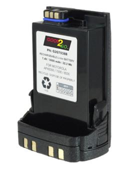 G2G7038 - GOOD 2 GO USB BATTERY FOR MOTOROLA APX6000 - 7.4V / 2500 mAh / 18.5 Wh / Li-Ion