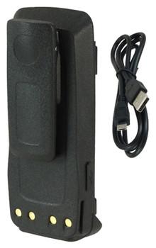 G2G4077 - GOOD 2 GO USB BATTERY FOR MOTOROLA XPR6100 - 7.4V / 2600 mAh / 19.2 Wh / Li-Ion