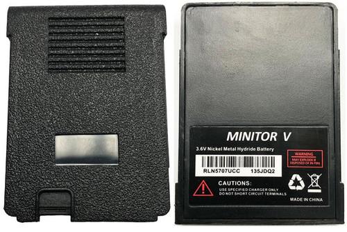 RLN5707UCC - UCC Wireless BATTERY FOR MOTOROLA MINITOR V - 3.6V / 600 mAh / NiMH
