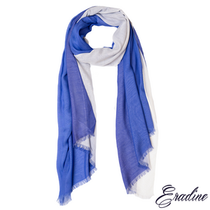 Eradine essentials blue ombre shawl
