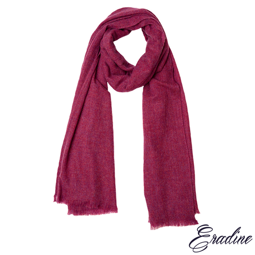 Eradine cashmere red shawl
