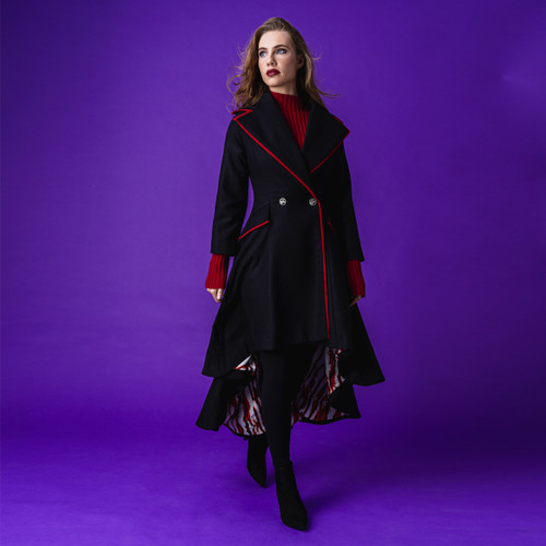 Ascot Black Fire Coat