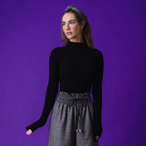 Sussex Cashmere Black Jumper