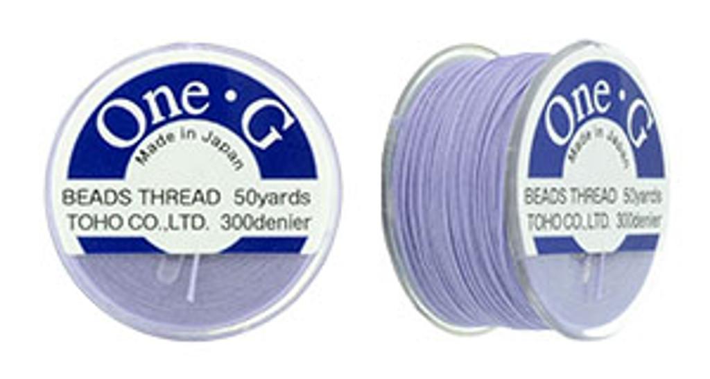 Light Lavender TOHO One-G Nylon Beading Thread 50 Yard Spool - (1 Spool)