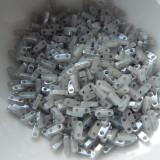 Quarter Tila Two Hole Beads Grey Ceylon 5 Grams Miyuki