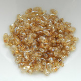 3x6mm DropDuo 2-Hole Crystal Picasso (100 beads) Czech Glass Beads