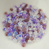 4mm Magatama Drop Lilac Mix 25 Grams Miyuki Glass Bead