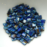 5MM Tila 5 grams Two Hole Beads Opaque Cobalt Picasso Miyuki No. 4518