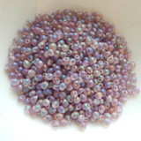 2.8mm Drop Beads Miyuki Transparent Matte Smoky Amethyst AB 20 Grams Glass Beads No. 142fr