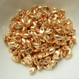 10 Grams - 4x7mm Long Magatama - Galvanized Gold - Miyuki - No. 1052