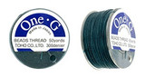 Deep Green TOHO One-G Nylon Beading Thread 50 Yard Spool - (1 Spool)