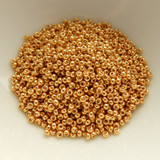 10 grams - 11/0 Miyuki Japanese Seed Beads - Duracoat Galvanized Gold No. 4202