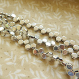 Two Hole Honeycomb (30 Beads) - Crystal Full Labrador - Czech Glass