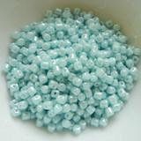 5 grams - Minos® par Puca® Paris Aqua opal Luster - Czech Glass