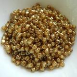 5 grams - Minos® par Puca® Paris Crystal Gold Spotted - Czech Glass
