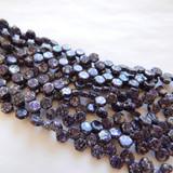 Two Hole Honeycomb (30 Beads) - Tweedy Violet - Czech Glass