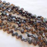 Two Hole Honeycomb (30 Beads) - Hodge Podge Seafoam Nebula - Czech Glass