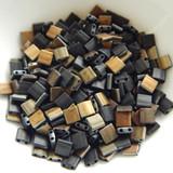Tila 5 grams Matte Valentinite 2-Hole 5mm Square Miyuki Beads No. 4561