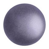 Cabochon Par Puca® 18mm - Metallic Matte Purple - (1 Piece) Czech Glass Cab