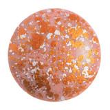 Cabochon Par Puca® 25mm - Opaque Rose Tweedy - (1 Piece) Czech Glass Cab
