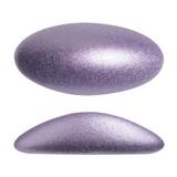 2 Pieces - Athos® Par Puca® Paris® 20x10mm - Metallic Matte Purple - Czech Glass Cab