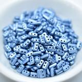 5 grams - Piros® par Puca® Paris - Metallic Matte Light Blue - Czech Glass