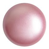 Cabochon Par Puca® 25mm - Rose Pearl - (1 Piece) Czech Glass Cab