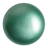 Cabochon Par Puca® 25mm - Green Turquoise Pearl - (1 Piece) Czech Glass Cab