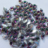 40 Beads - Gemduo Two Hole Beads Backlit Spectrum Czech Glass Bead