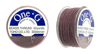Mauve TOHO One-G Nylon Beading Thread 50 Yard Spool - (1 Spool)