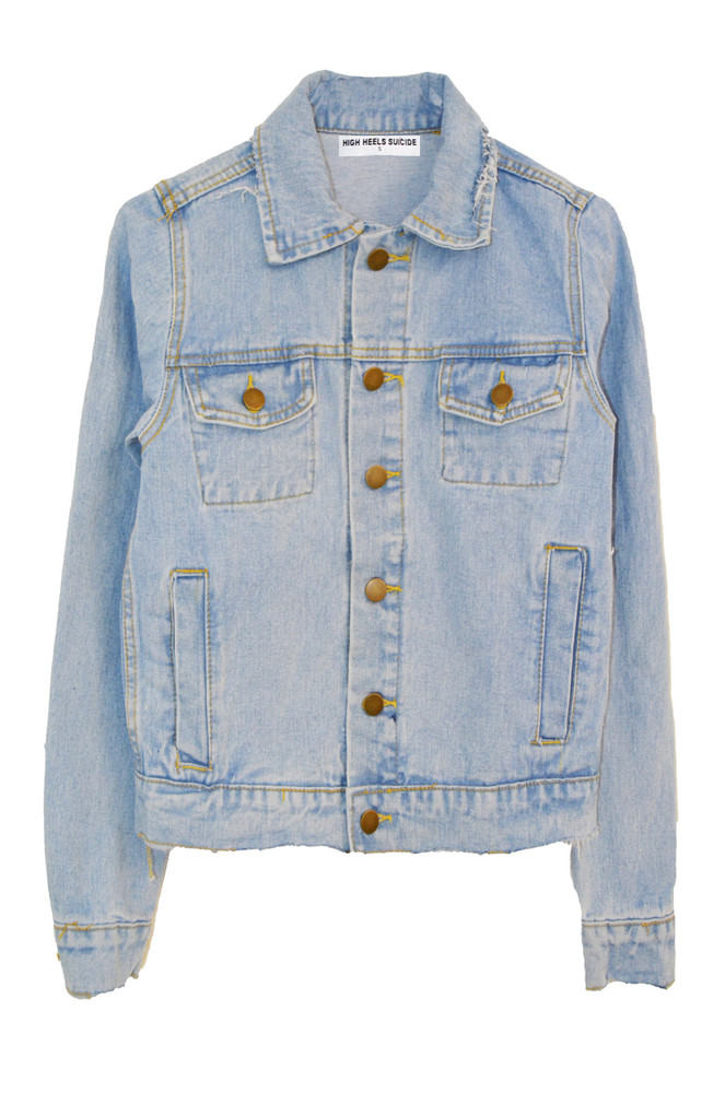 SMILEY DENIM JACKET